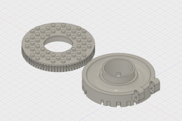 LEGO Compatible Medium Sized Thrust Ball Bearing