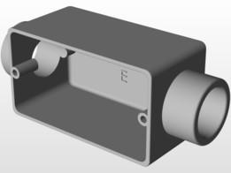 Condulete Aluminio 3/4 com Rosca Tipo E
