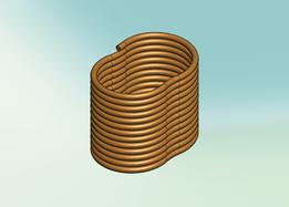 eliptical helix