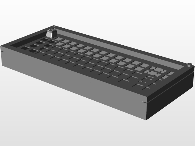 SOLIDWORKS, keyboard - Recent models | 3D CAD Model Collection