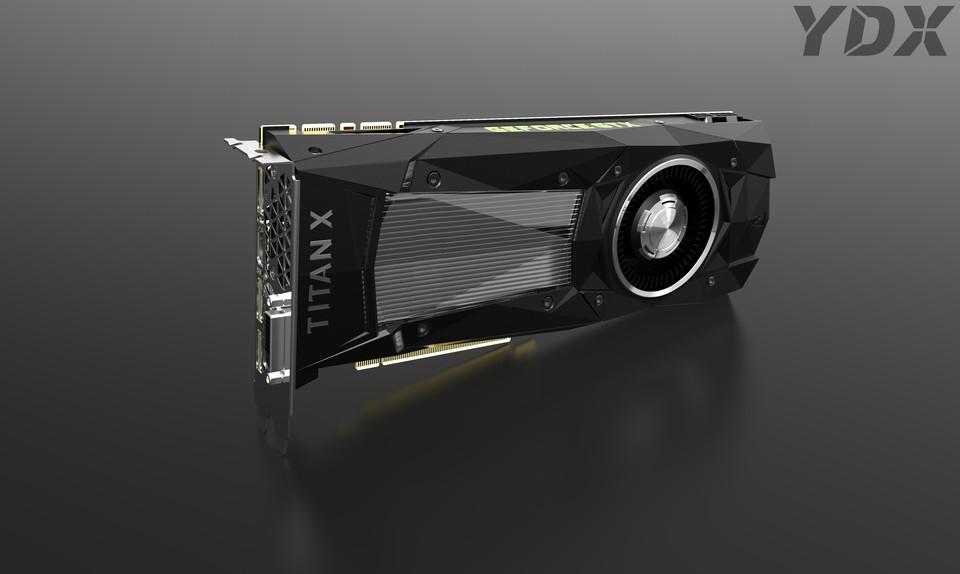 Nvidia GTX Titan Xp | 3D CAD Model Library | GrabCAD