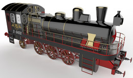 locomotive - Most downloaded models | 3D CAD Model