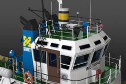 Virtual Shipyard: SMIT Denemarken Tug - update 5