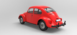 Vw beetle Render