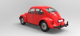 Vw beetle Render