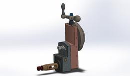 shaper tool head assembly