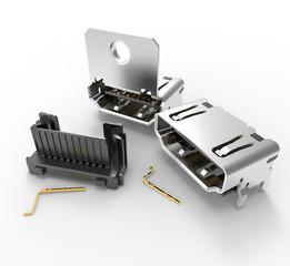 FCI HDMI Right Angle Header
