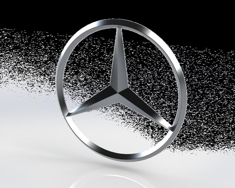 Mercedes benz logo step igessolidworks 3d cad model grabcad voltagebd Image collections