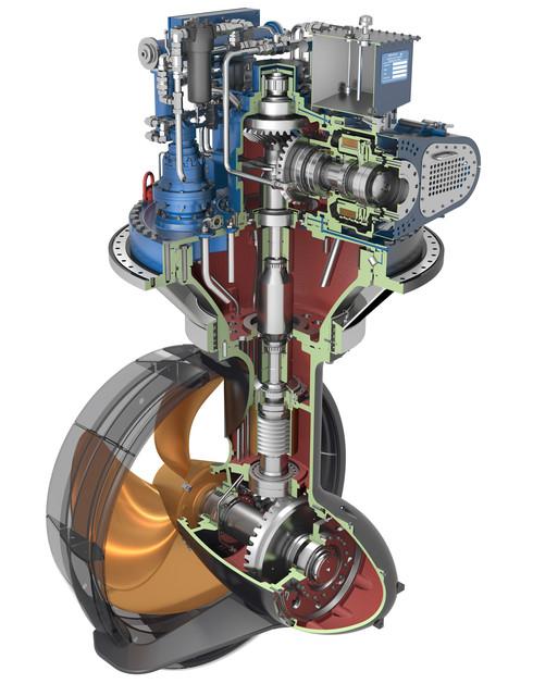 THRUSTER OF WARTSILA FINLAND   3D CAD Model Library   GrabCAD