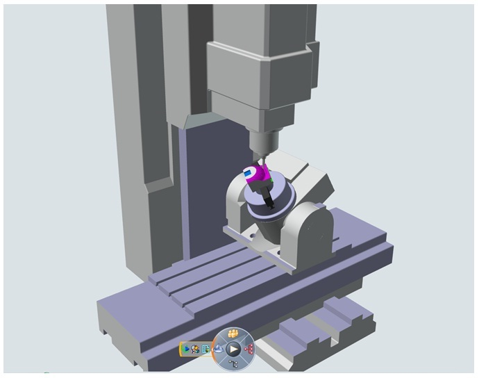 5 Axis Cnc Machine Catia 3d Cad Model Grabcad