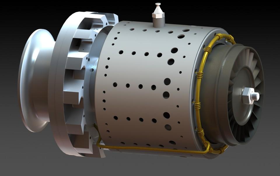 GR180 Gas Turbine Jet Engine 3D CAD model GrabCAD – Jet Turbine Engine Diagram
