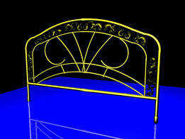 BRASS HEAD OF BED               A.PONOMAREV STYLE