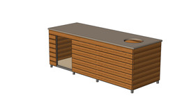 Combo Kennel / Outside table