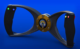 Bloodhound Bowtie - The Fastest Steering Wheel In The World