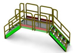 Modular Platforms and Stairs - Escaleras y plataformas Modulares