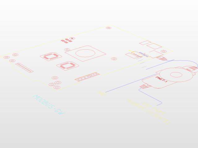MODBUS- GW | 3D CAD Model Library | GrabCAD