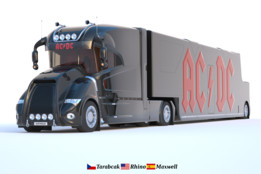 AC/DC Promotion Truck