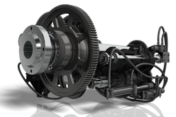 24 Speed Lathe Gearbox