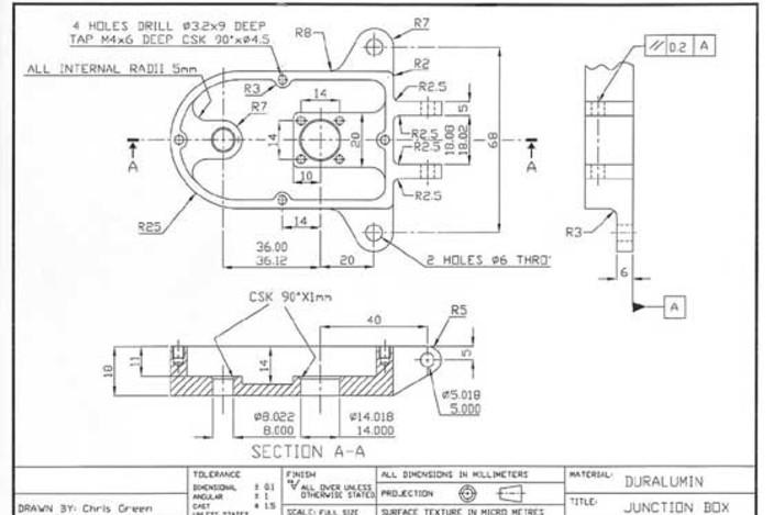 junction box - autodesk inventor - 3d cad model