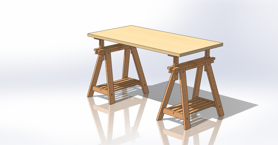 Chevalet Ikea Artur 3d Cad Model Library Grabcad