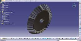 Engrenagem cônica / Bevel gear