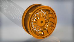 2.2 RC Rock Crawler Wheel