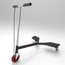 New Power Wing Scooter