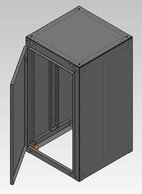 Electric Cabinet 3d Cad Model Library Grabcad