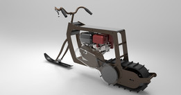 mini snow bike