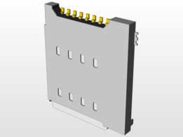 Micro SIM socket - Molex 104118-0811