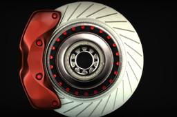 Hub Disc and Caliper