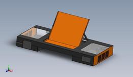 Older PC desk design