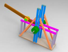 trebuchet - Recent models   3D CAD Model Collection