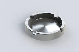 Aluminum ashtray