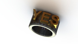 Help remember new years resolutions - The Yes and No Ring