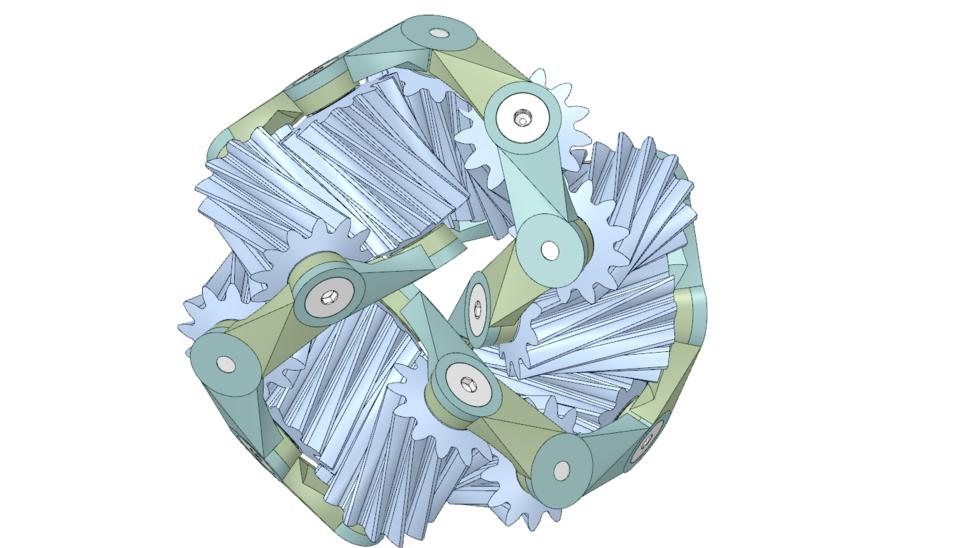 11 gear mobius strip v2 public 3d cad model library grabcad maxwellsz