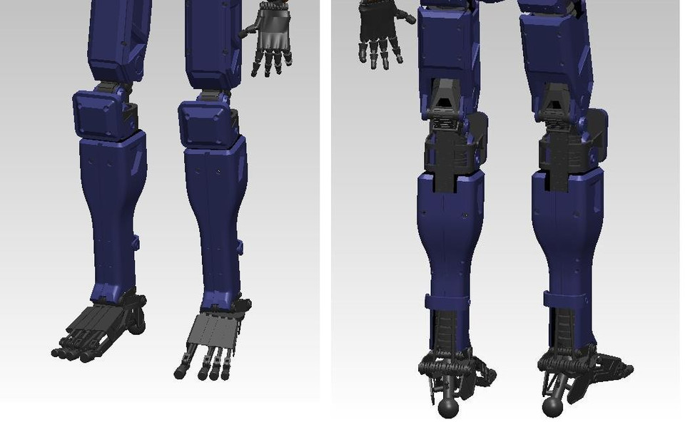 Chappie Droid | 3D CAD Model Library | GrabCAD