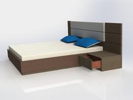 Кровать 2в