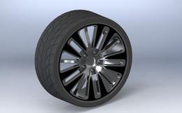 """20"""" Rim & Tyre"""