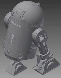Ultimaker 3D Printer Toy_Star Wars R2-D2