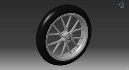 KTM DUKE II Front wheel