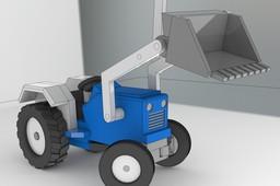 Woodcraft Farm Tractor
