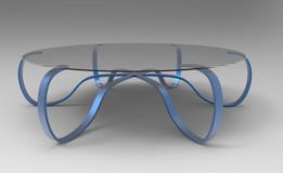 Large circular table