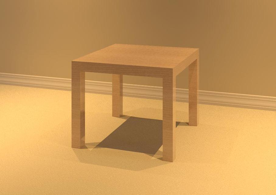 Ikea Lack Side Table Autodesk Revit 3d Cad Model Grabcad