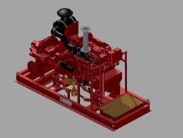 Groupe Motopompe Diesel 800m3/h - 10 bars