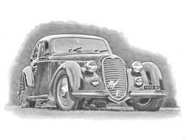 Alfa Romeo 6C 2500 Castagna berlinetta 1939