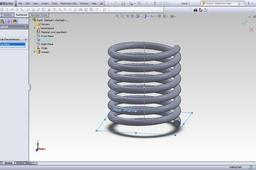 Tutorial: How to make an animation for a compression spring in Solidworks?