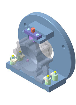 Clamping for turning