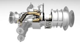 MS 3002 Gas turbine