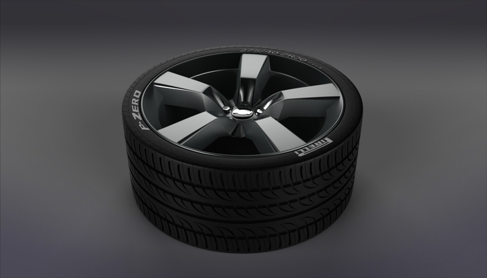 Camaro Wheel (Tire and Rim) Pirelli